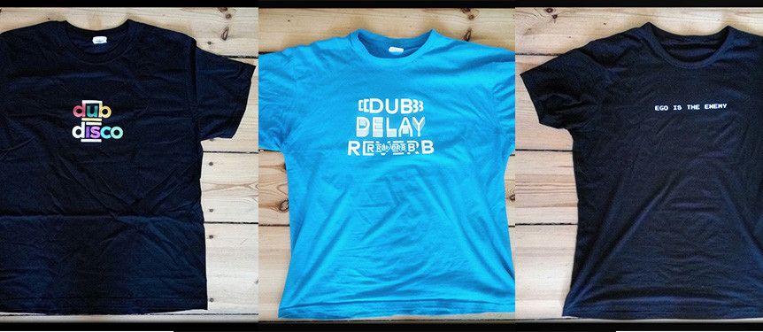 Tshirts Dub Delay Reverb Ego is the Enemy