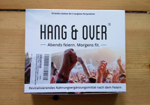 Hang and over Abends Feiern Morgens Fit 1